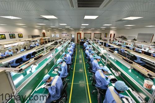 Nhà máy sản xuất Bphone có quy mô khiêm tốn