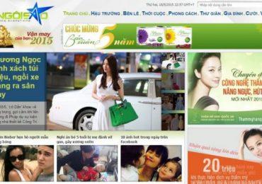 Top 10 website showbiz Việt nổi tiếng nhất hiện nay
