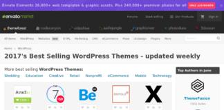 Top 5 nhà cung cấp wordpress theme tốt nhất 2017