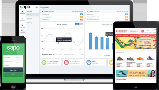 Toàn bộ sản phẩm, khách hàng, đơn hàng... từ Website bán hàng online Bizweb