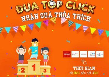 Đua top click nhận quà lớn tại Adpia