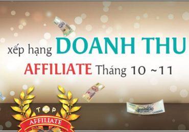 MinhTamBlog nằm trong top 14 xếp hạng doanh thu Affiliate Adpia