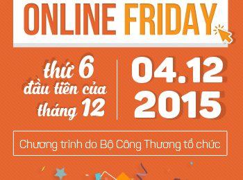 Ngày mua sắm trực tuyến Việt Nam tại Online Friday