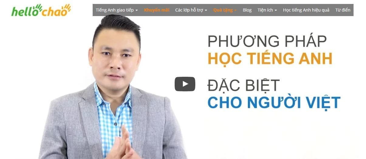 Học anh văn trực tuyến cùng Hellochao chỉ 200k/ 1 năm