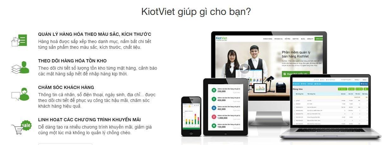 KiotViet có đầy đủ tính năng bạn cần