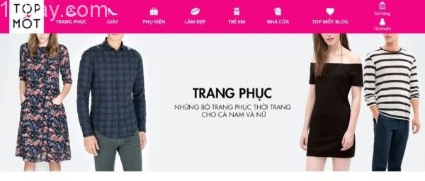 TOPMOT trang mua sắm hàng giảm giá