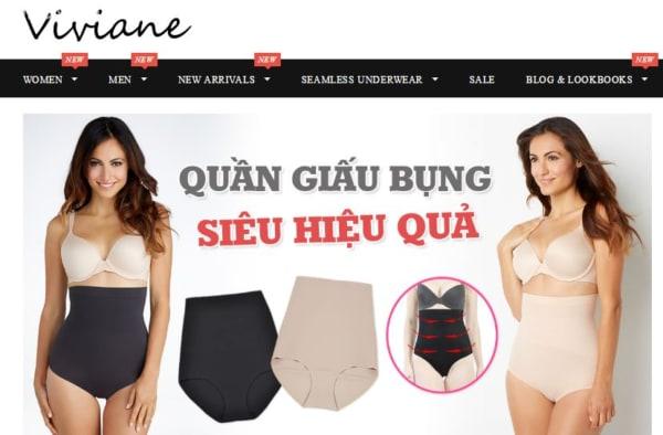 Viviane trang mua sắm đồ nội y nam nữ chất lượng quốc tế