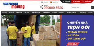 Top 10 dịch vụ chuyển nhà trọn gói uy tín ở TPHCM 2017