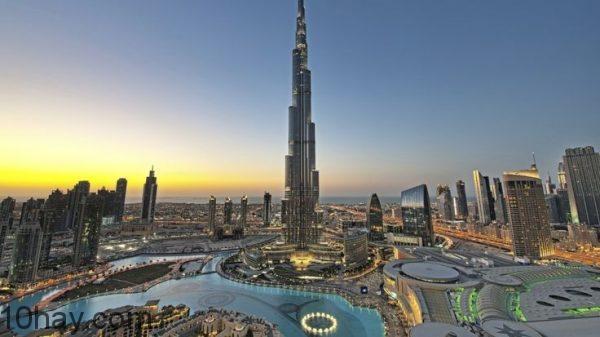 Burj Khalifa - Tòa nhà cao nhất thế giới ở Dubai