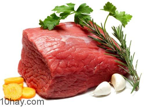 Chọn thịt bò