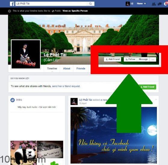 Chế độ mọi người cho Facebook 1