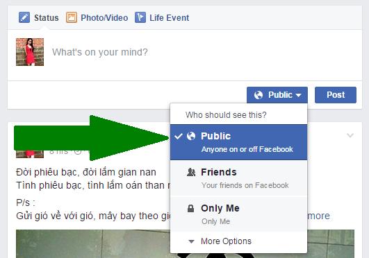 Chế độ mọi người cho Facebook 3