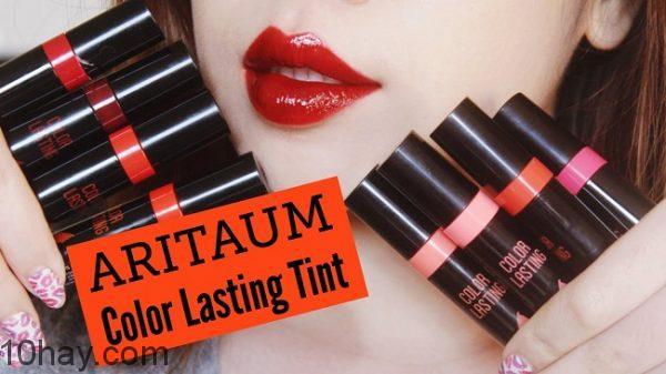 Aritaum Color Lasting Tint có bảng màu đa dạng