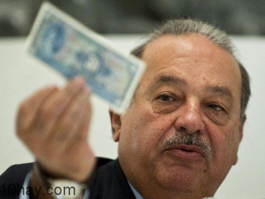 Tỷ phú Carlos Slim Helu