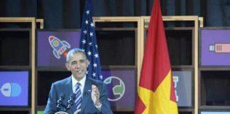 Tổng thống Mỹ có mặt tại trung tâm Dreamplex ở TP HCM