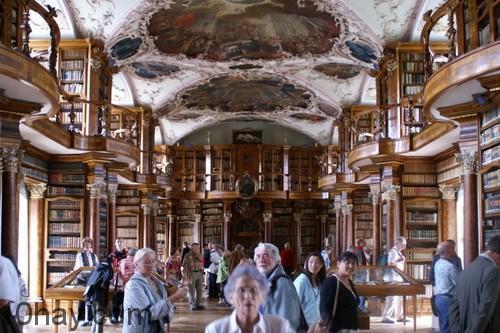 Thư viện Abbey của St. Gallen