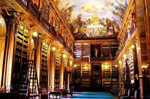 Thư viện Strahov Monastery