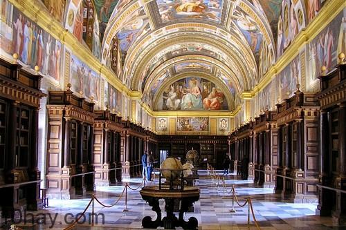 Thư viện của El Escorial