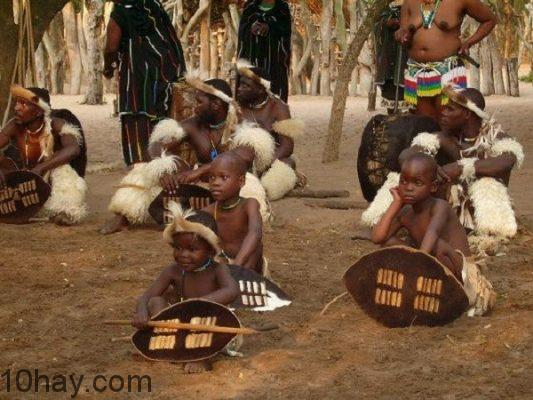 Bộ tộc người Zulu