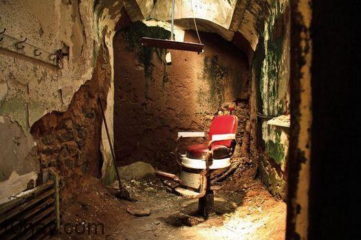 Nhà tù ma phía đông bang Penitentiary