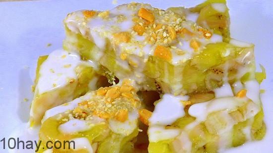 Các loại bánh chuối hấp, món ngon từ chuối xiêm hấp dẫn