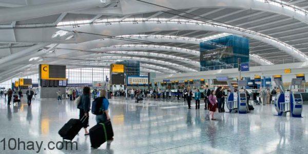 Nhà ga T5-sân bay Heathrow