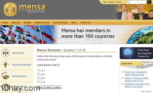 mensa-workout