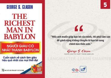Người Giàu Có Nhất Thành Babylon - George S. Clason