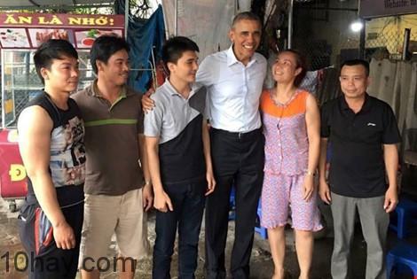 Tổng thống Obama thân thiện với người dân Việt Nam