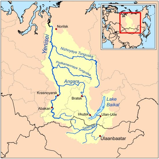 sông Yenisei