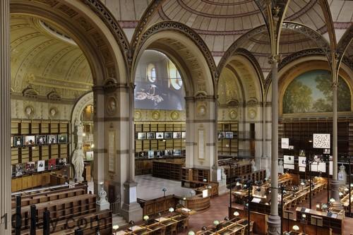 thư viện quốc gia Pháp