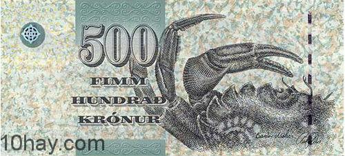 tien 10 (Kronur-of-Faroe-Islands)