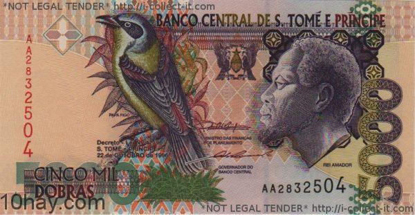 tien 3 (Dobra-of-Sao-Tome-Principe)