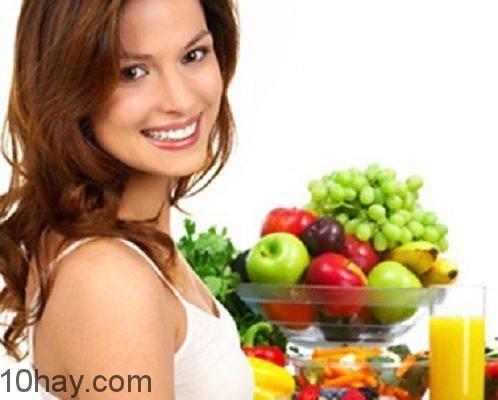 Ăn nhiều rau quả
