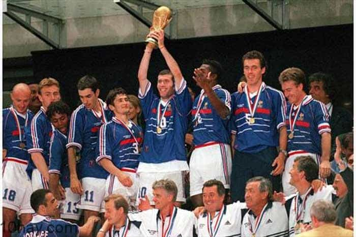 Đội tuyển bóng đá Pháp (1998-2000)