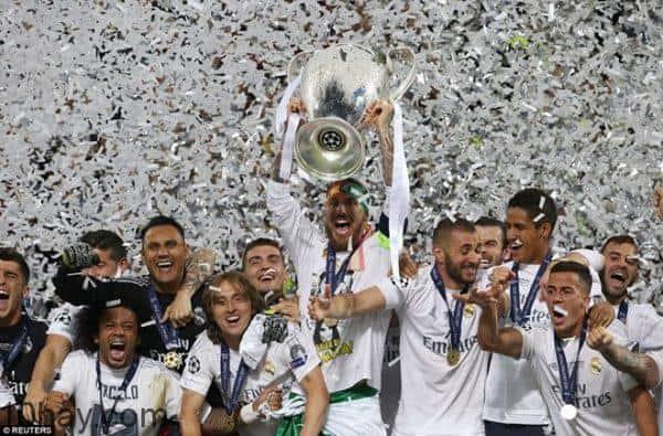 Đội tuyển bóng đá Real Madrid (1955-1960)
