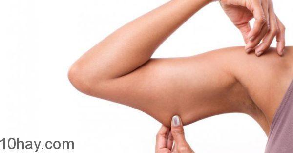 10 bài tập giảm béo cánh tay hiệu quả