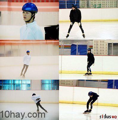 Ước mơ trở thành vận động viên trượt băng