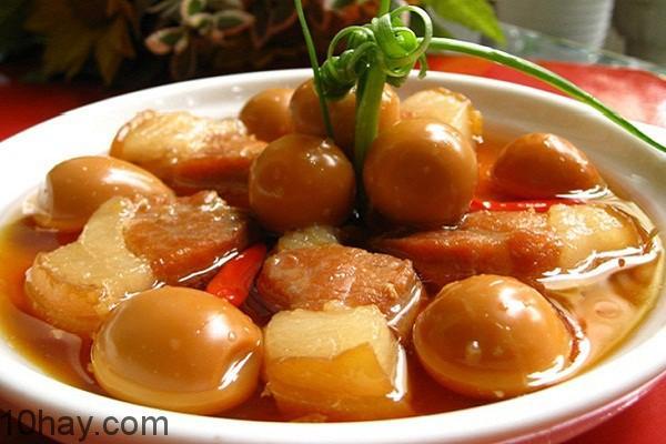 Món ăn dễ làm từ thịt lợn