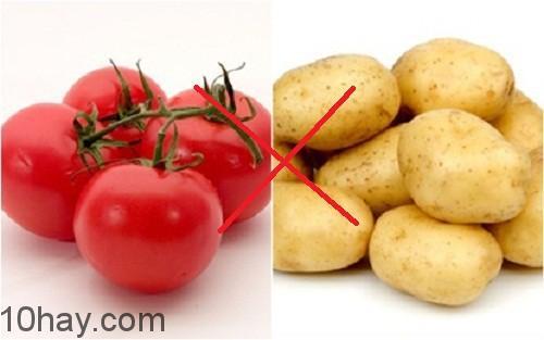 Cà chua và khoai tây