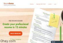 Website tạo CV xin việc miễn phí