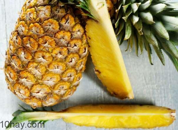 Thơm-thực phẩm nhiều vitamin C