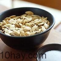 Hạt bí ngô - thực phẩm giúp tăng cường trí tuệ, giàu chất kẽm