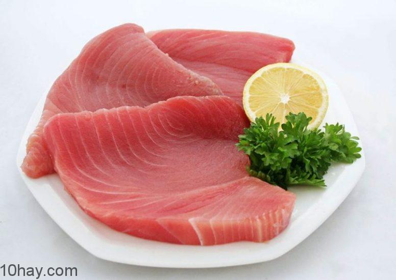 Cá ngừ phong phú protein và chất béo lành mạnh