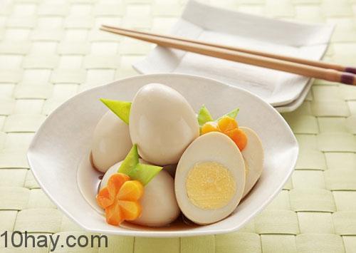 Trứng chứa nhiều chất dinh dướng thiết yếu giúp tăng cân nhanh