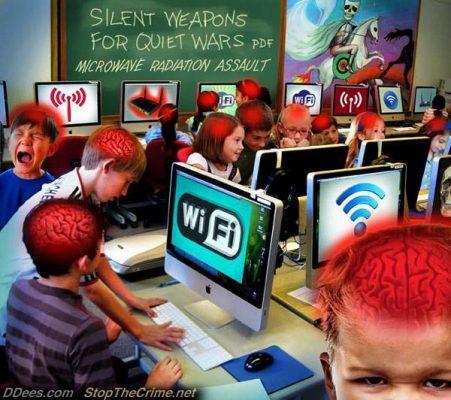 Tác hại củaSóng wifi ảnh hưởng tới não trẻ việc lạm dụng điện thoại