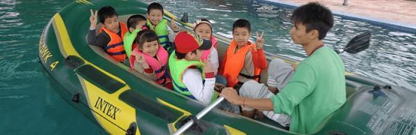 trèo thuyền