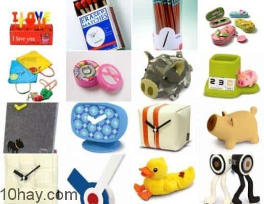 Những sản phẩm được trao đổi trên một website