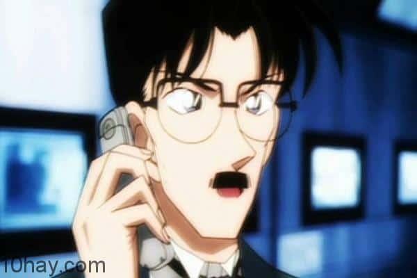 5. Bố của Conan - Yusaku Kudo