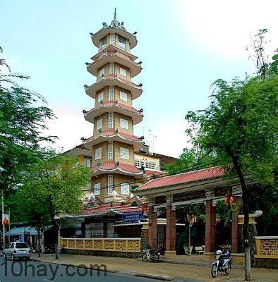Ngôi chùa tọa lạc quận 3, tphcm